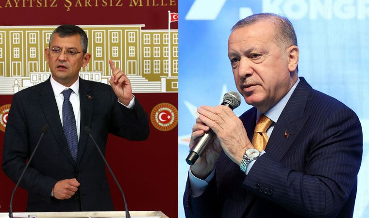 Özgür Özel'den Erdoğan'ın