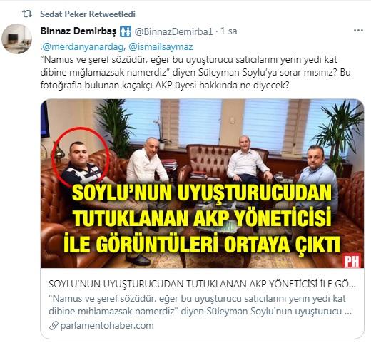 Sedat Peker, Süleyman Soylu'ya sorulması için sosyal medya hesabından soru paylaştı 14