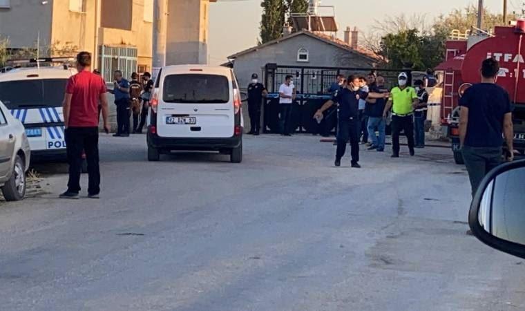 Konya'da eve düzenlenen silahlı saldırıda 7 kişi öldü: Ev ateşe verildi