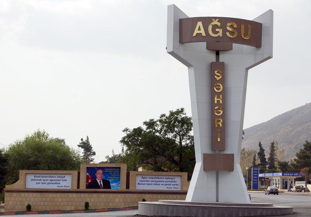 Ağsunun Bico kəndində camaat etiraza qalxdı, polis müdaxilə etdi- VİDEO