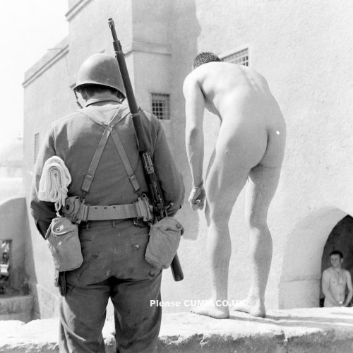 Men Naked World War II