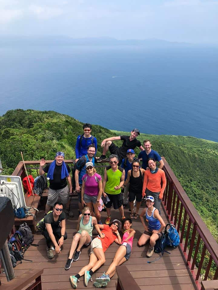 The Taipei Hikers on Turtle Island, Taiwan
