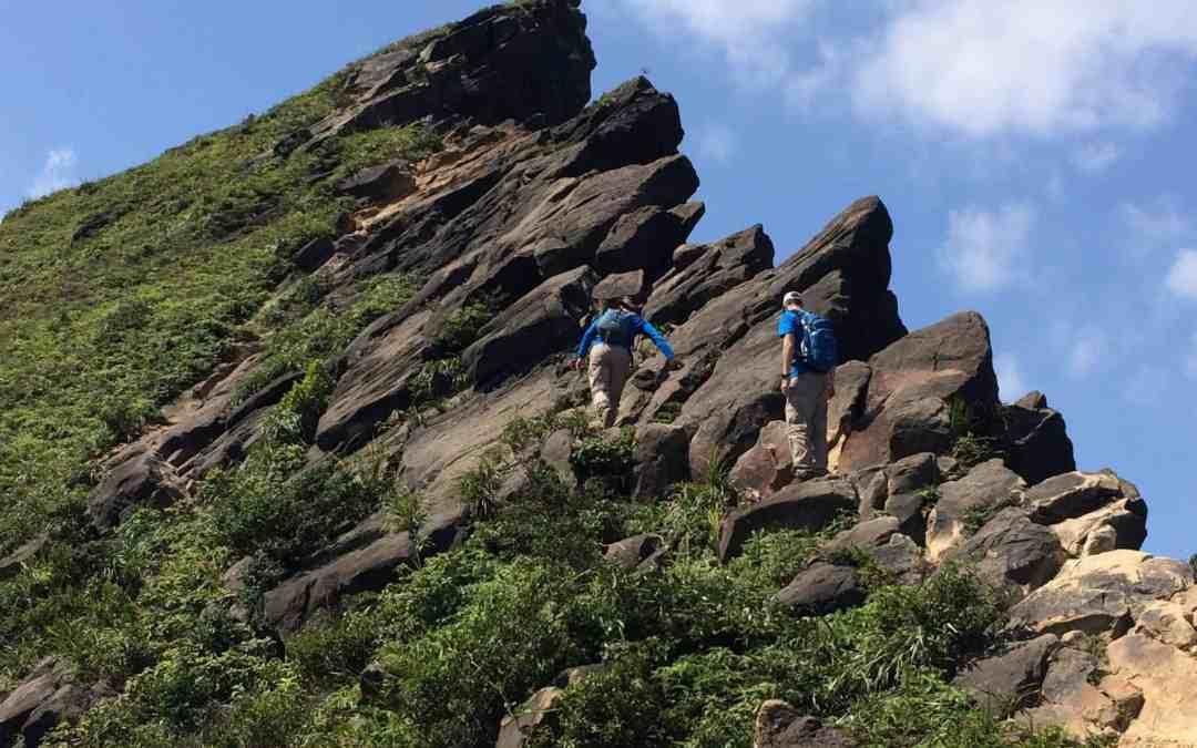 Stegosaurus Ridge, the Jurassic Hike