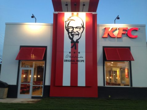 KFC American Showman Side Elevation