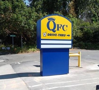 QFC Pylon Sign