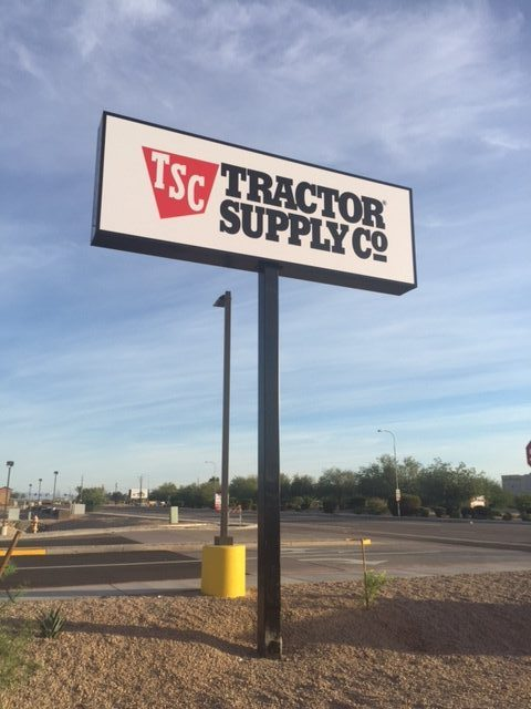 Tractor Supply Pylon3