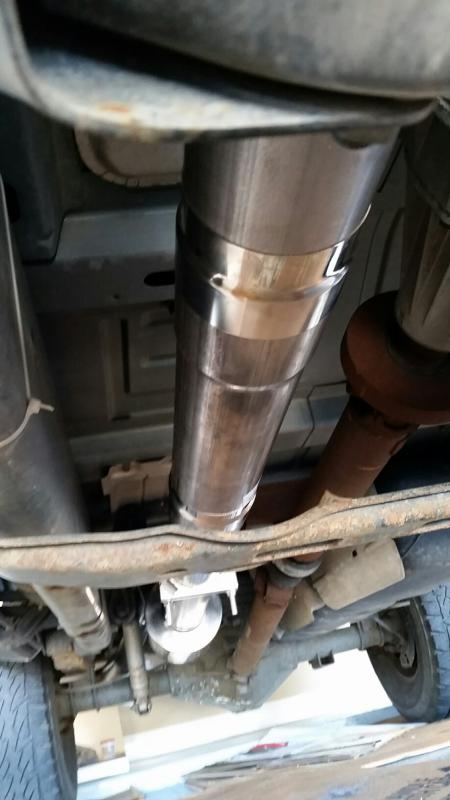 4 flo pro exhaust installed today