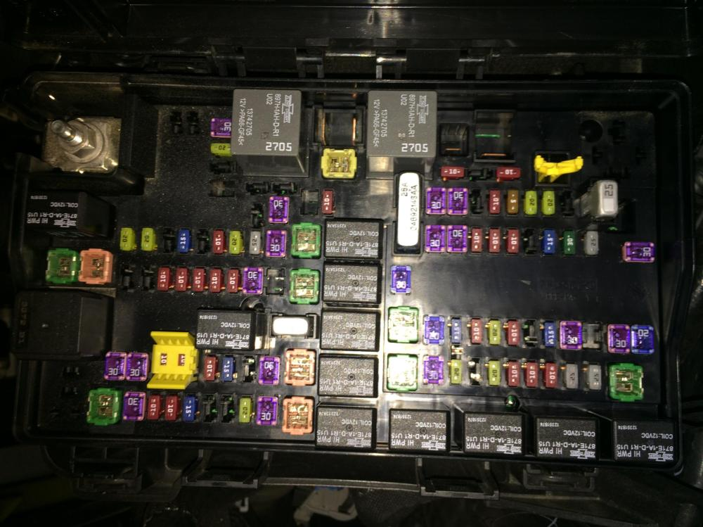 medium resolution of 2013 dodge ram fuse box