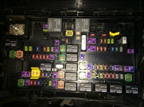 small resolution of 2013 dodge ram fuse box