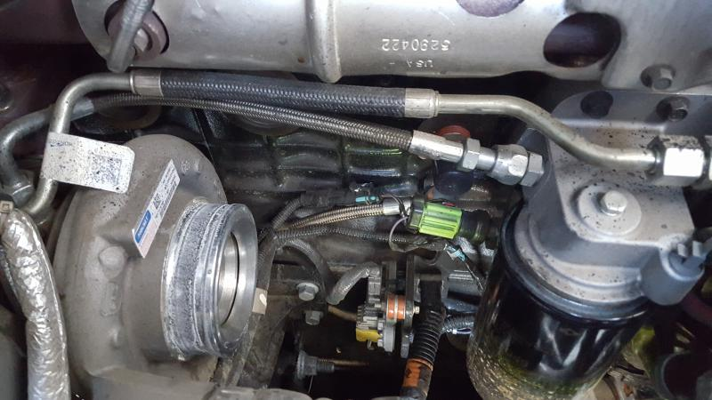 Diesel Fuel Filter Location On Dodge 4 7 Oil Pressure Switch Location