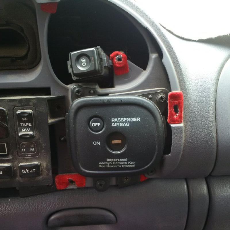 1998 Dodge Ram 2500 Headlightsthe Light Switch From The Wiring