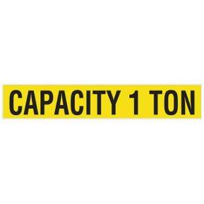 Cummins Label - capacity label