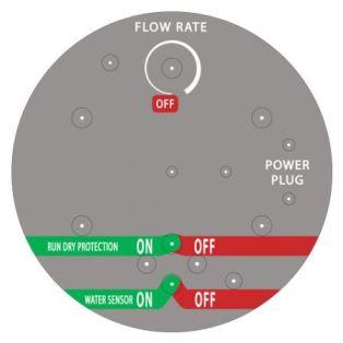 Cummins Label - flow rate label