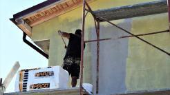 Continuă lucrările la Centrul Cultural de Tineret. FOTO Primăria Cumpăna.