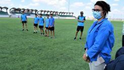 Daruri pentru fotbaliștii de la CS Victoria Cumpăna. FOTO CS Victoria Cumpăna
