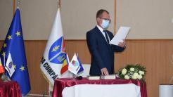 Florin Neagu, viceprimarul comunei Cumpăna. FOTO Primăria Cumpăna