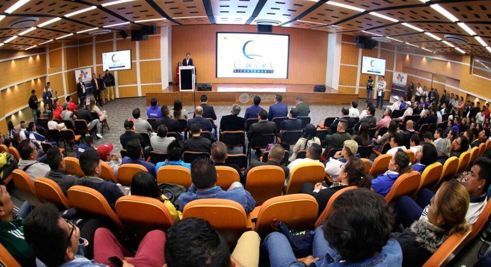 Lanzamiento de la Vuelta a Cundinamarca 2019 en la Gobernación Departamental.