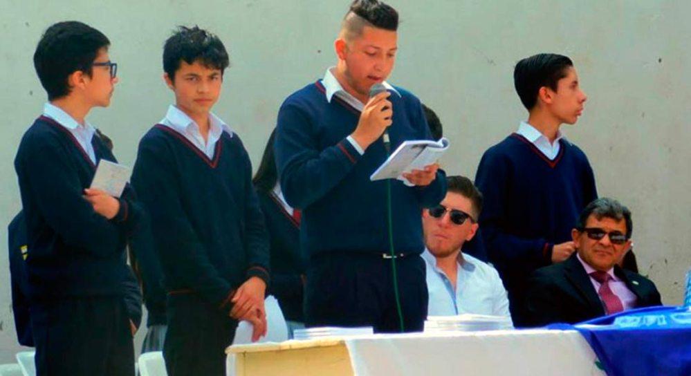 """""""Leer, nuestra nueva misión"""" es un trabajo de Docentes y estudiantes"""