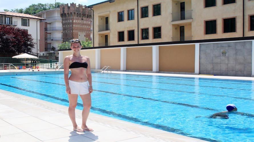 CEVA Riaperta dopo oltre un anno la piscina al Parco della Rotonda Vecchia Torre Cuneocronacait