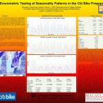 2015 UTRC 2nd annual Transportation Technology Sym Final Tissera and Freund - Econometric Testing of Seasonality Patterns in the Citi Bike Program