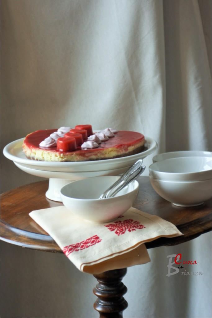 torta cuore lamponi 5