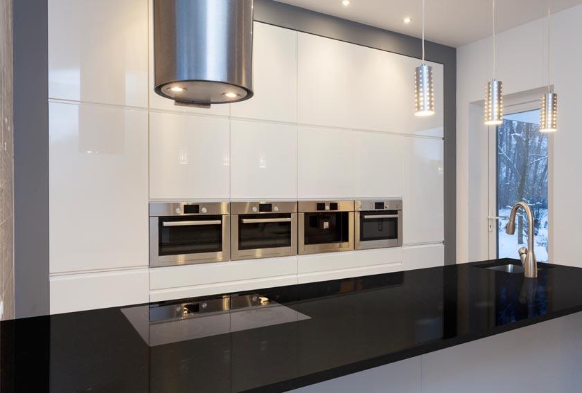 El granito se cuela en las cocinas de estilo nrdico y