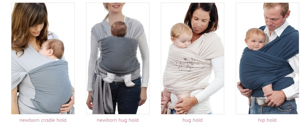 baby wrap positions