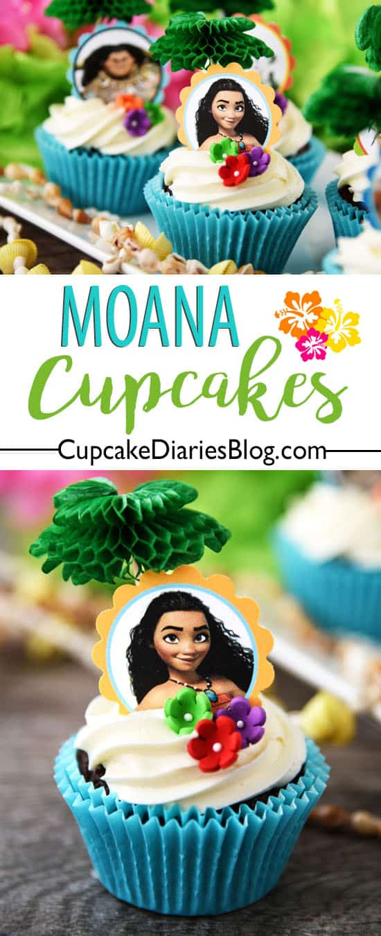 pineapple decorations for kitchen moen renzo faucet moana cupcakes