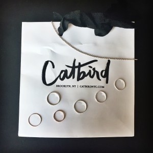 CatbirdNYC Stackable Rings