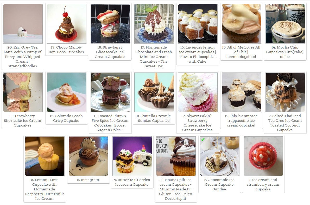The Best Ice Cream Cupcake Of Is