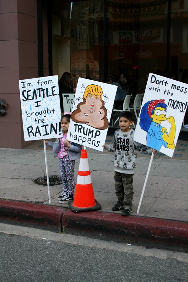 Women March Los Angeles Photos