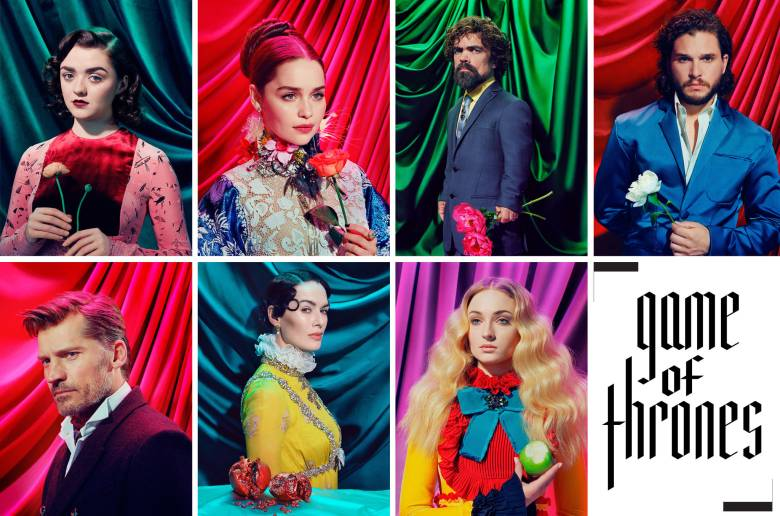 Miles aldridge game thrones time cover
