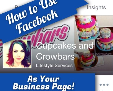 Tutorial for how to use Facebook as your Business Page
