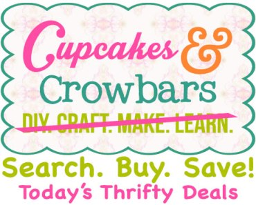Today's Thrifty Deals |Cupcakes&Crowbars @cupcakescrowbar