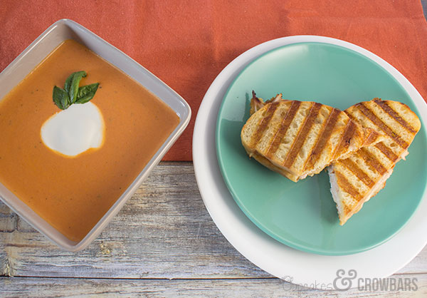 Creamy, Spicy Tomato Soup |Cupcakes&Crowbars
