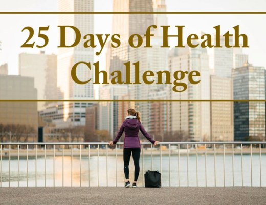 25 Days Of Health Challenge | cupcakesandthecosmos.com