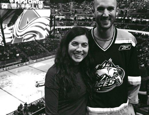 Colorado Avalanche NHL Game | www.cupcakesandthecosmos.com