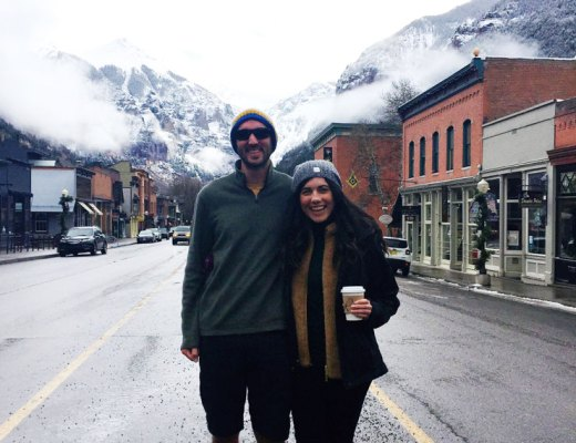 Our first trip to Telluride Colorado in the off season | www.cupcakesandthecosmos.com