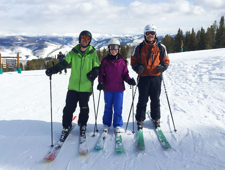 Family Ski Vacation in Beaver Creek - Day 2 | www.cupcakesandthecosmos.com