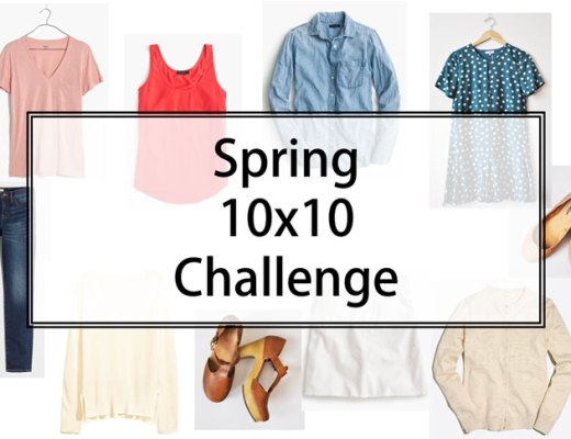 Spring 10x10 Challenge | www.cupcakesandthecosmos.com