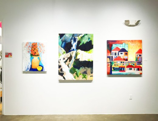 Second Saturdays Art Show on Spring Street in Houston, Texas | www.cupcakesandthecosmos.com