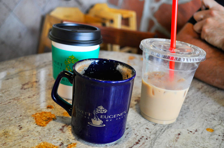 Sweet Eugene's Coffee in College Station, Texas | www.cupcakesancthecosmos.com