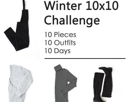 Winter 10x10 Challenge | www.cupcakesandthecosmos.com