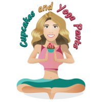 Cupcakes and Yoga Pants Logo