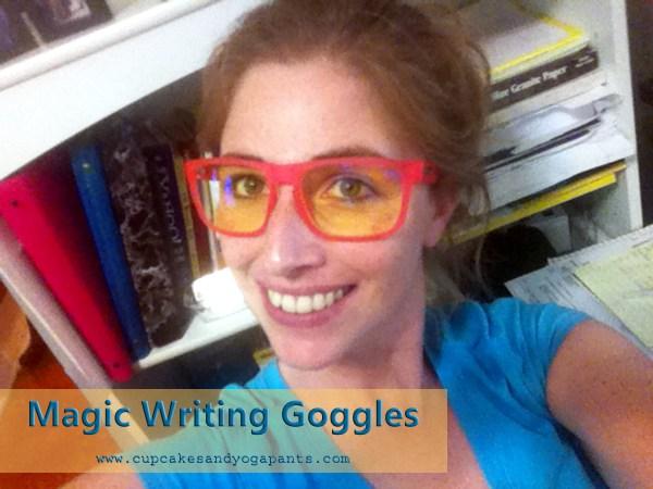Magic Writing Goggles
