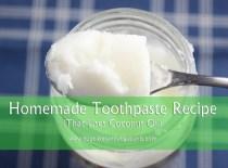 Coconut Oil Toothpaste Recipe