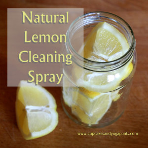 Natural Lemon Cleaning Spray