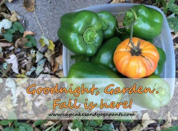 End of Garden Season