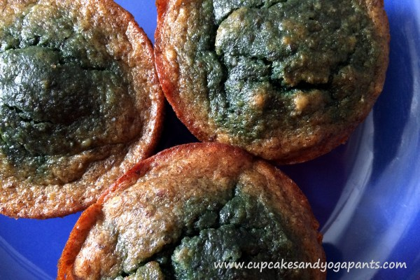 Leapin' Leprechauns! Green Banana Muffins!