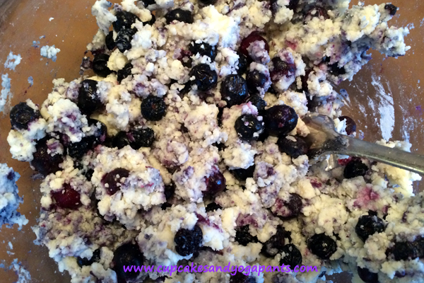 Homemade Blueberry-Aronia Berry Biscuits (Gluten Free)